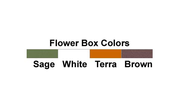 Planter Box Colors