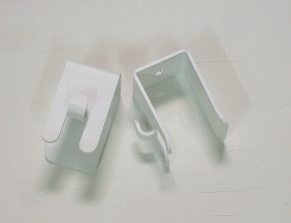 White Toy Net Hooks