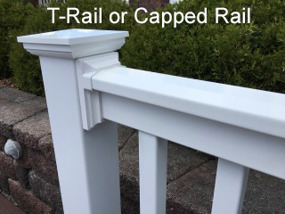 MIDE Products T-Railing Example